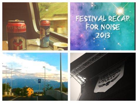 For Noise Festival 2013 - Ein kleines Schwiizer Reisli.