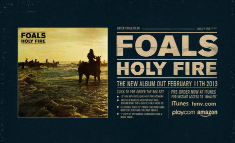 Foals - Holy Fire (2013)
