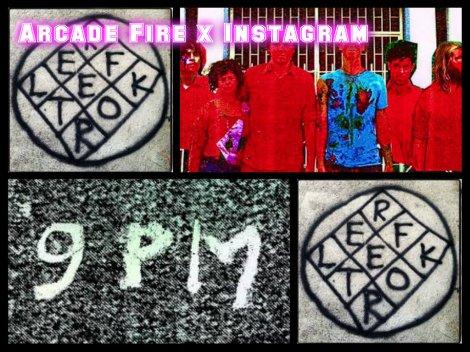 Arcade Fire und ihr geheimes Instagram-Profil: Sie posten Bilder und Bruchartiges der Zahl 9.