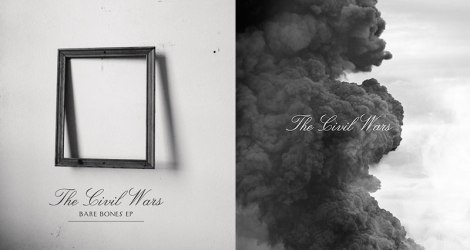 The Civil Wars - Bare Bones EP (links) & The Civil Wars Album (rechts)