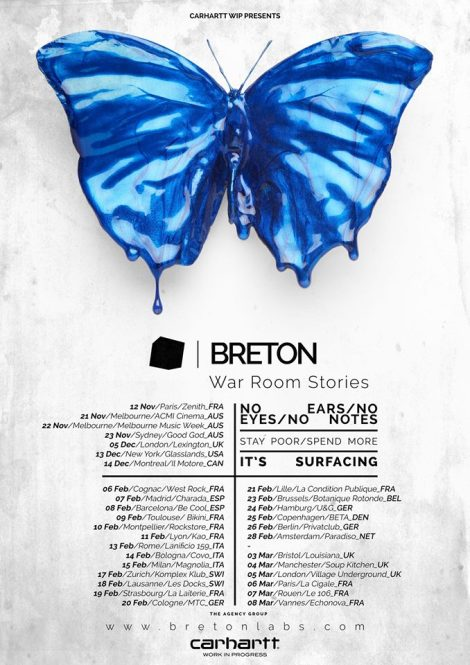 Die Symbiose aus Elektro und Indie vermischt sich bei Breton mit etwas mehr. Breton halt.
