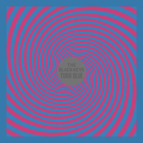Turn Blue mit einer roten Spirale - Das neue Album von The Black Keys