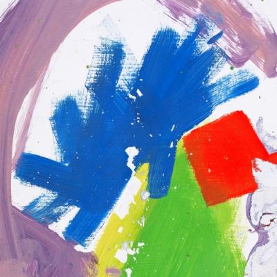 """Ein Kind gemalt? Das Albumcover von alt-J´s zweitem Album """"This Is All Yours"""". Alles das... für... uns? Och, danke."""