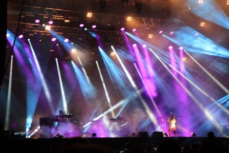 "Zürich Openair 2014: Röyksopp & Robyn innerhalb ihrer ""Do It Again"" Tour"