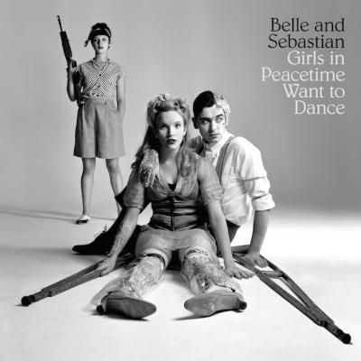 """So wird das neue Album -Cover zu """"Girls In Peacetime Want To Dance"""" von Belle & Sebastian aussehen."""