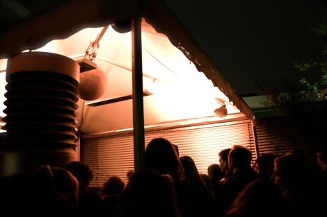 Das Eröffnungskonzert der Band Me & Reas fand auf der GOIJA Terrasse statt.