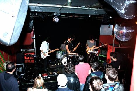 Phoria aus England gaben ein hyperaktives Konzert, das einen gefüllten Publikumssaal erfreute.