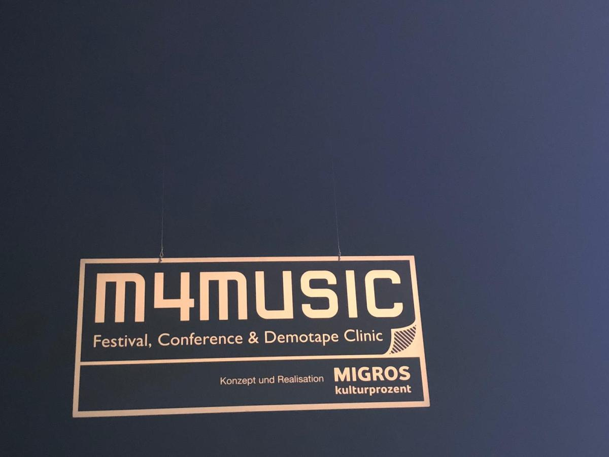 So war Tag 1 am m4music Festival (in Zürich)